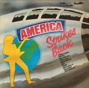 V/A - America Strikes Back: The Sounds Album Volume 5 (LP) (VG/G+)